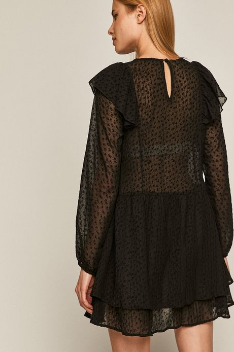 Bluzka damska Black Art czarna