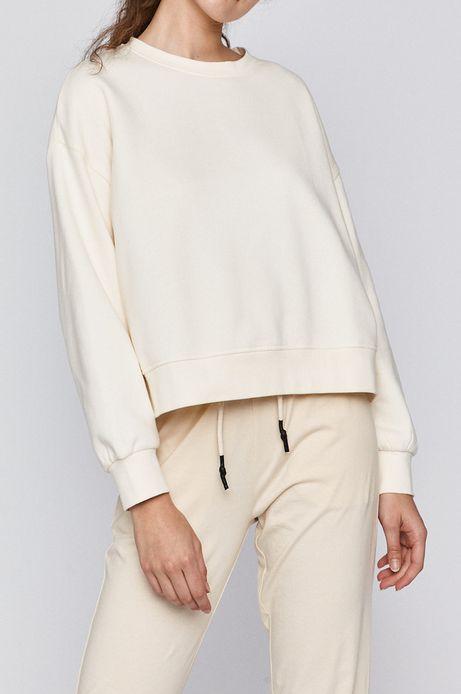Bluza damska kremowa