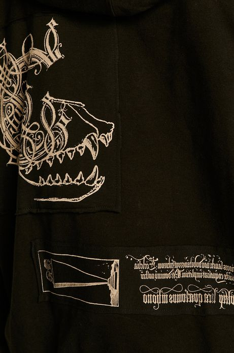 Bluza damska Halloween czarna