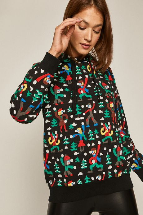 Bluza damska z kolekcji X-mass by Patryk Mogilnicki