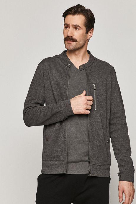 Bluza męska bawełniana szara