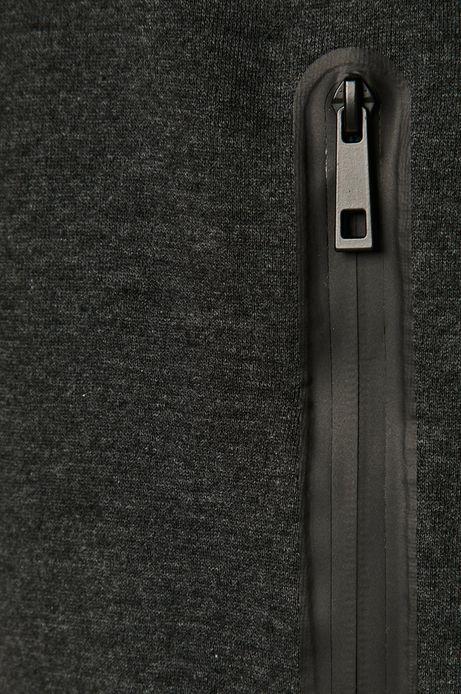 Bawełniana bluza męska z kapturem szara