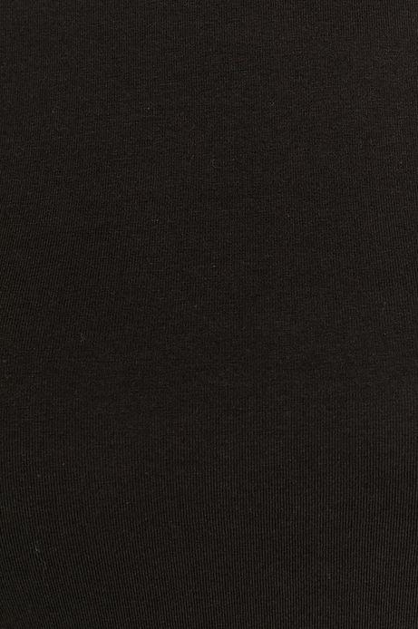 Longsleeve damski z bawełny organicznej czarny