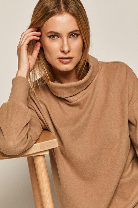 Bluza damska beżowa