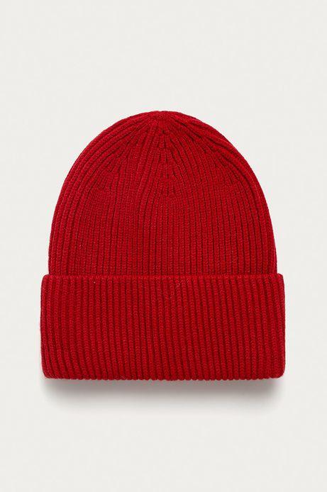 Czapka damska Basic czerwona