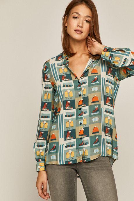 Koszula damska z kolekcji X-mass by Justyna Frąckiewicz
