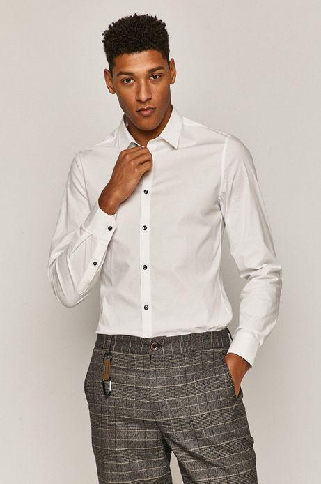 Koszula męska slim biała