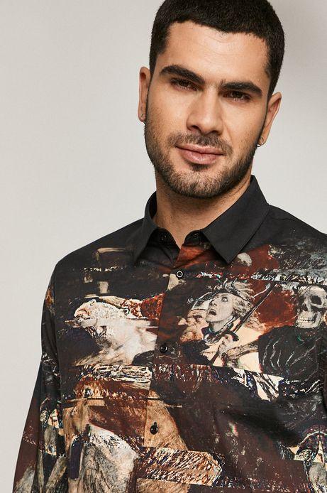 Koszula męska Lux Black multicolor