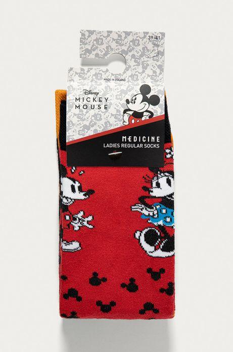 Skarpetki damskie Mickey Mouse (2-PACK)