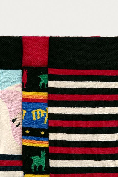 Skarpetki damskie w azteckie lamy (3-PACK)