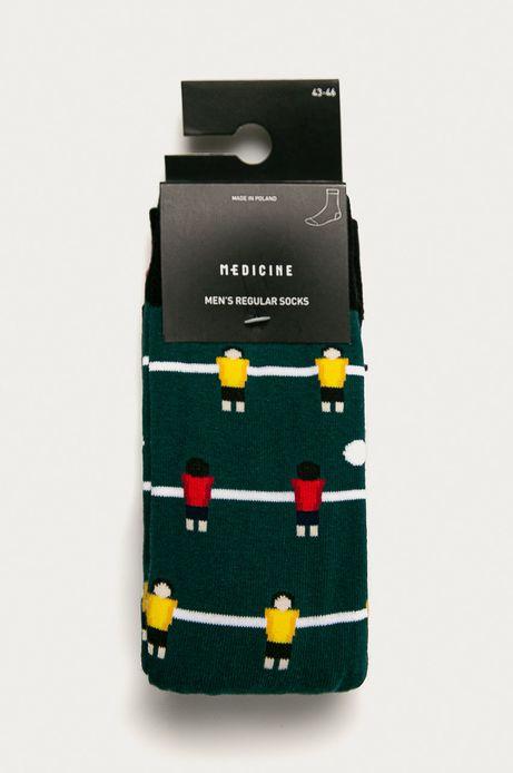 Skarpety męskie w piłkarzyki (2-pack)