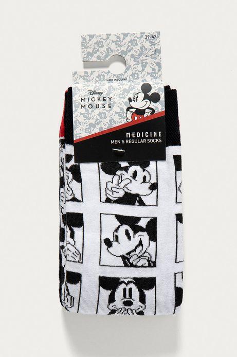 Skarpetki męskie Mickey Mouse (2-PACK)