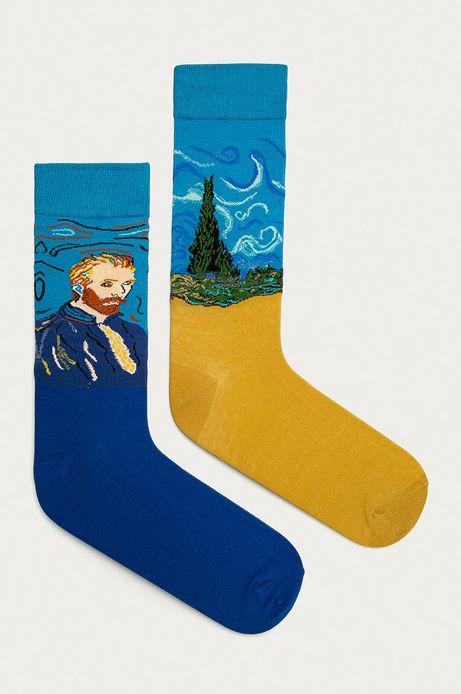 Skarpetki męskie Vincent van Gogh (2-PACK)