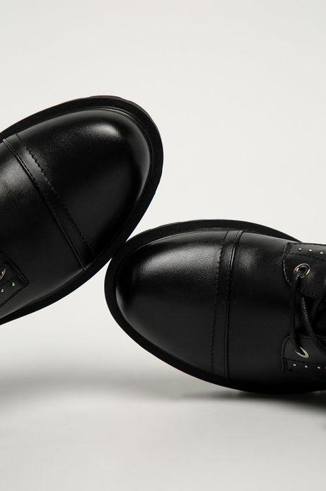 Botki damskie czarne