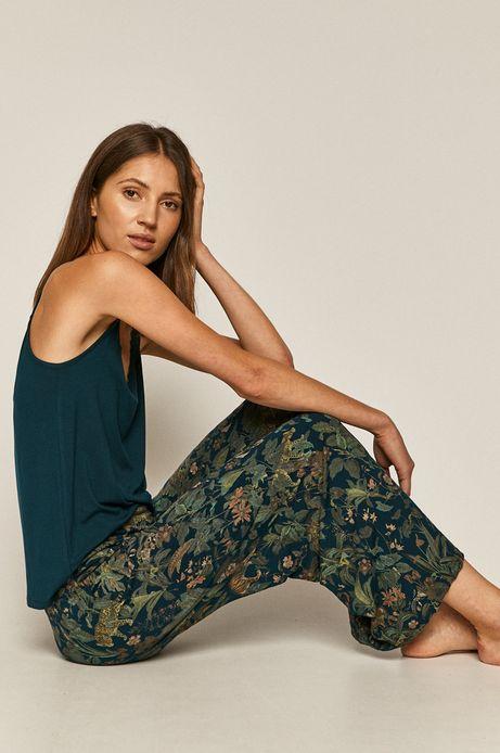 Piżama damska zielona