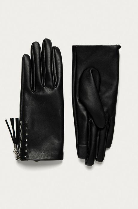 Rękawiczki damskie Basic czarne