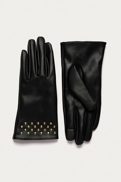 Rękawiczki damskie touch screen czarne