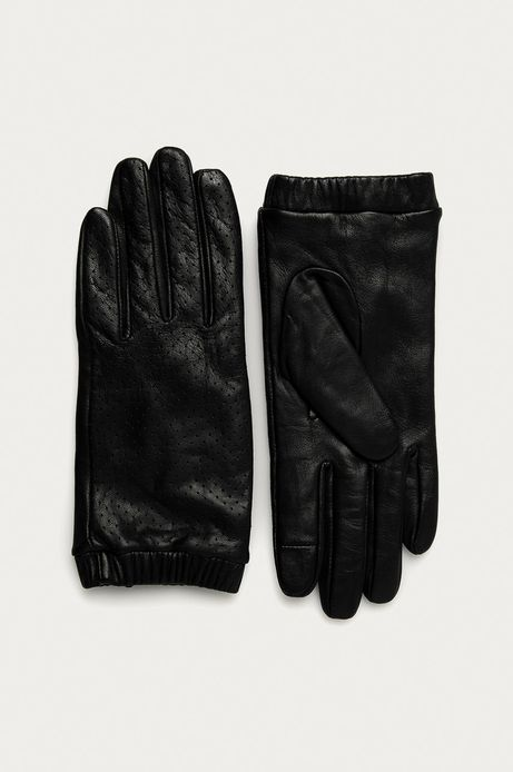 Skórzane rękawiczki damskie w pudełku prezentowym