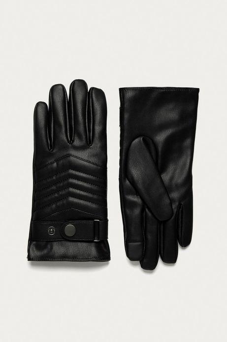 Rękawiczki męskie touch screen czarne