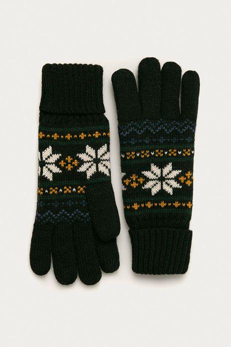Rękawiczki męskie z motywem zimowym