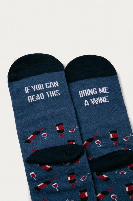 Zestaw prezentowy: skarpetki (2-pack) i korek do wina
