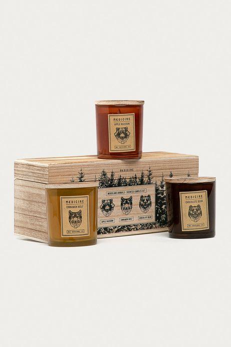 Świece zapachowe (3-pack)