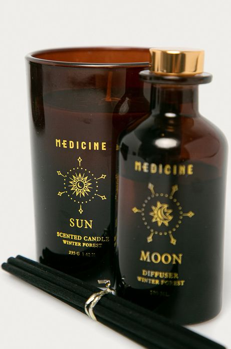 Zestaw: świeca i dyfuzor SUN and MOON SET