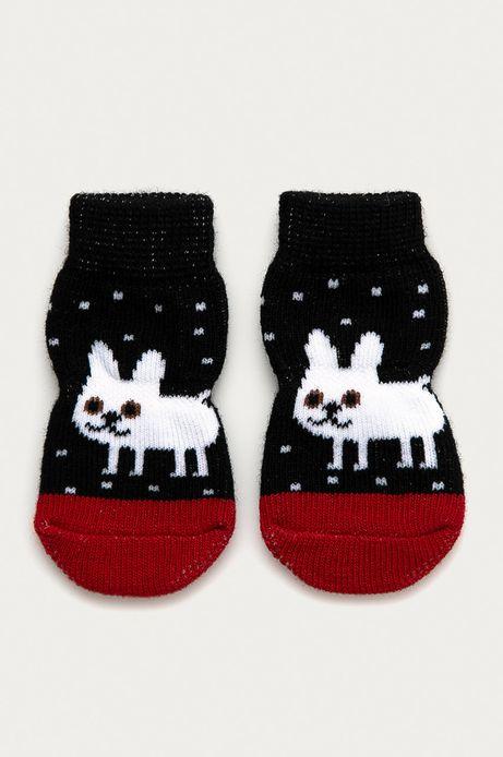 Skarpetki dla psa czarne