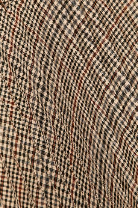 Spódnica damska plisowana w kratkę