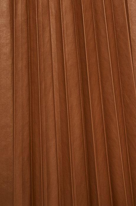 Spódnica damska plisowana brązowa