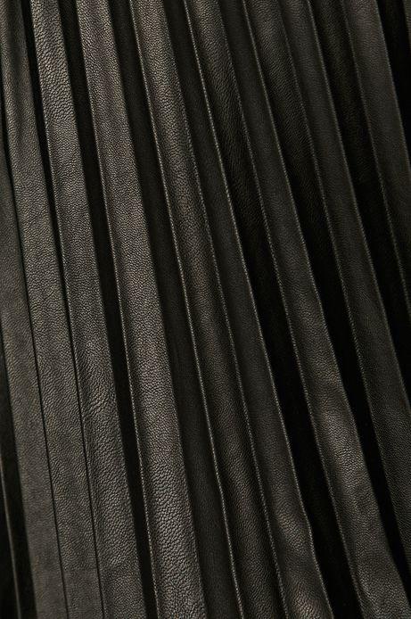 Spódnica damska plisowana czarna