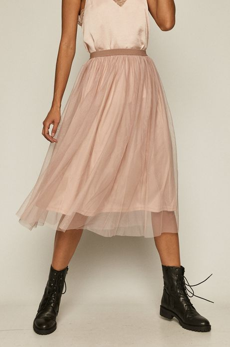 Spódnica damska tiulowa różowa
