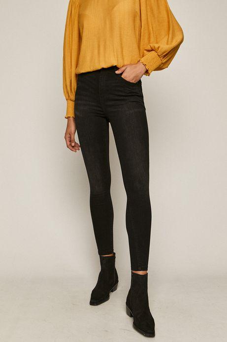 Jeansy damskie skinny czarne