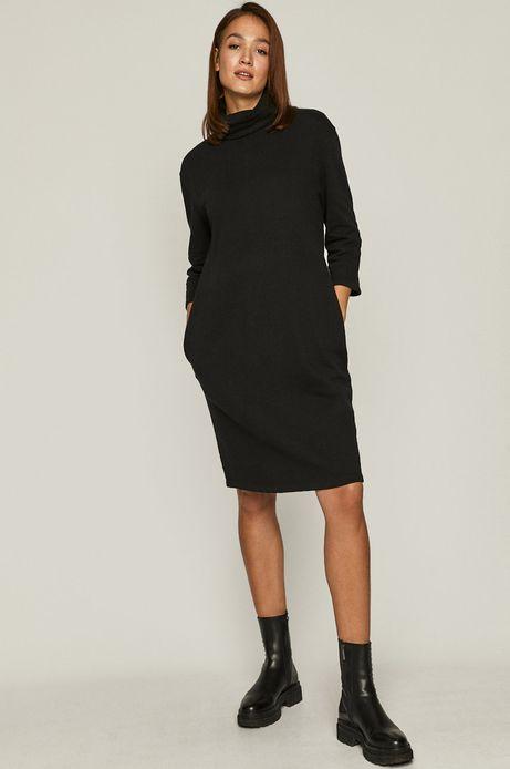 Sukienka Comfort Zone czarny