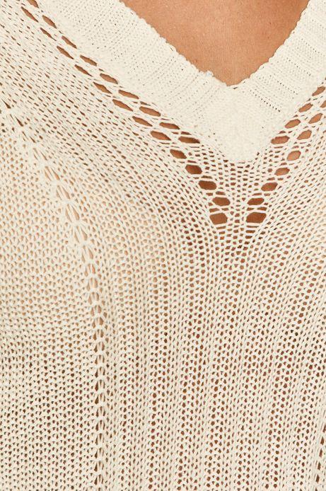 Sweter damski beżowy