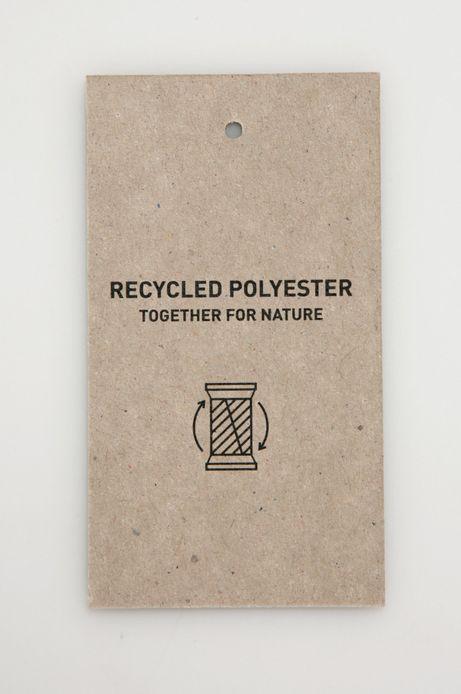 Sweter damski z recyklingowanym poliestrem żółty