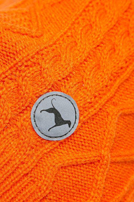 Sweter dla pupila pomarańczowy