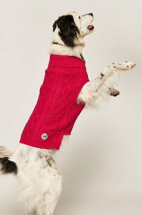 Sweter dla pupila różowy
