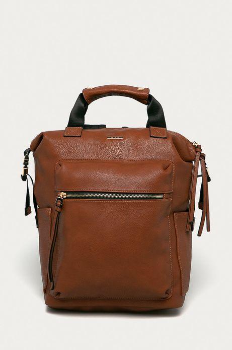 Plecak damski brązowy