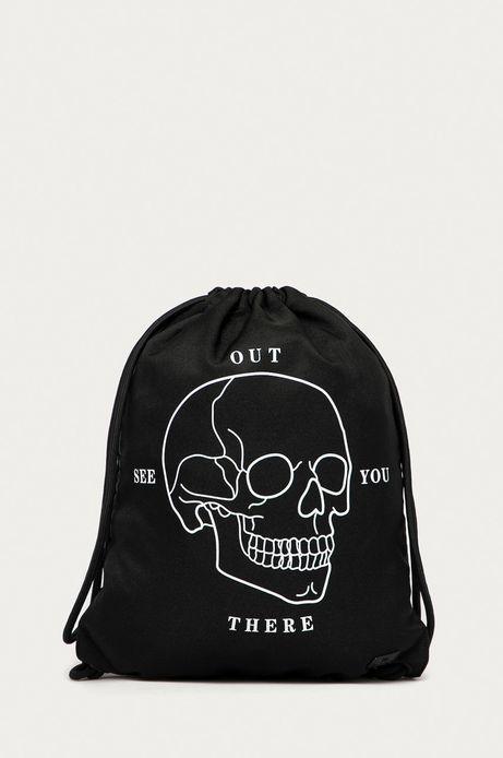 Plecak worek czarny