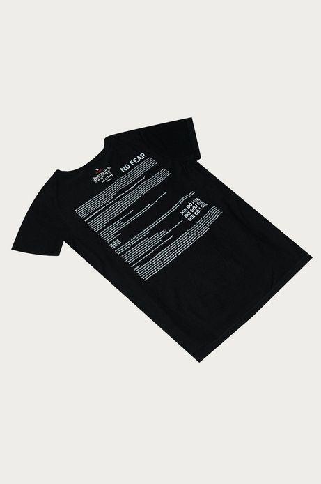 T-shirt damski by Dorota Masłowska i Maciej Chorąży czarny