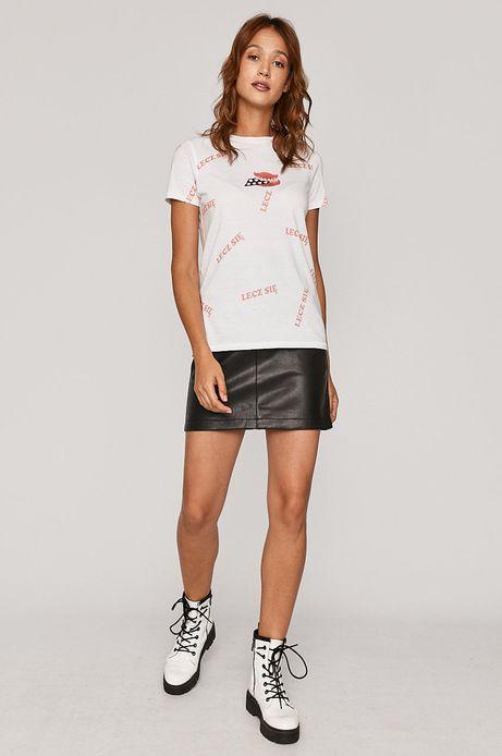 T-shirt damski by Dorota Masłowska i Maciej Chorąży biały