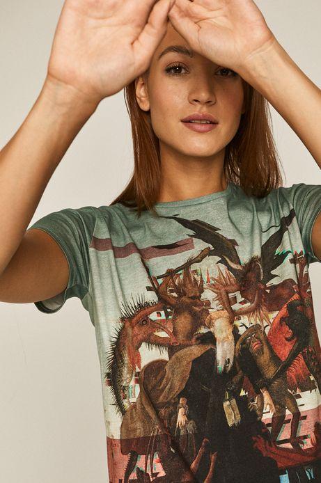 T-shirt damski z bawełny organicznej