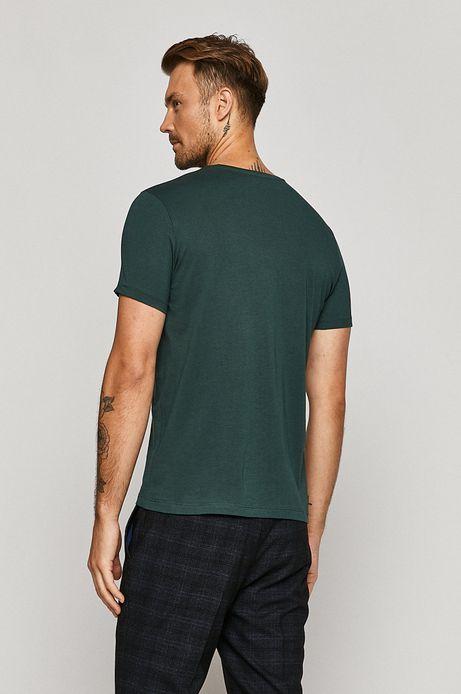 T-shirt męski zielony