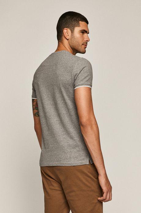 T-shirt męski Basic szary
