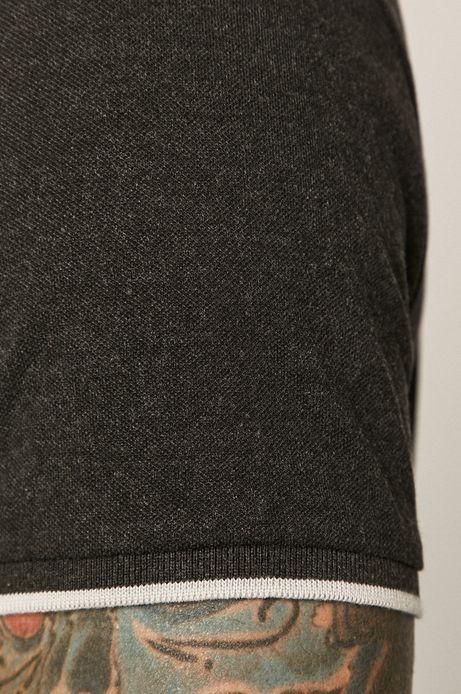 T-shirt męski Basic czarny