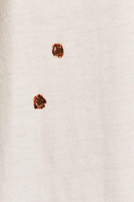 T-shirt męski by Dorota Masłowska i Maciej Chorąży biały