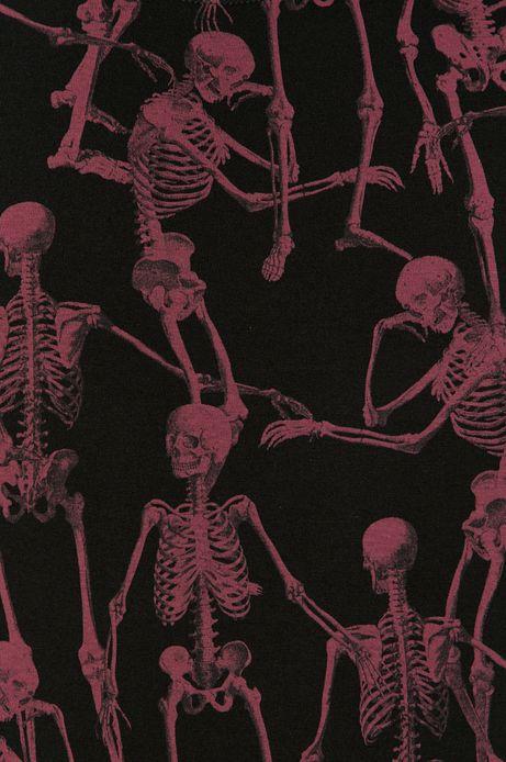 T-shirt męski Halloween z bawełny organicznej czerwony