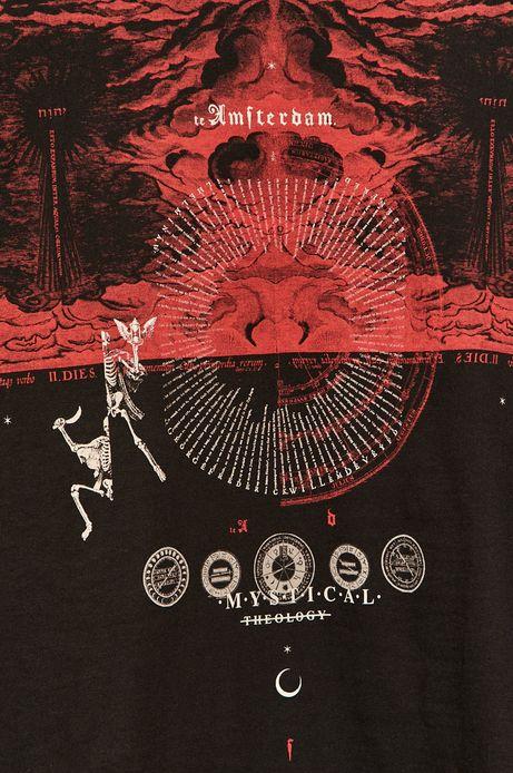 T-shirt męski Halloween czarny