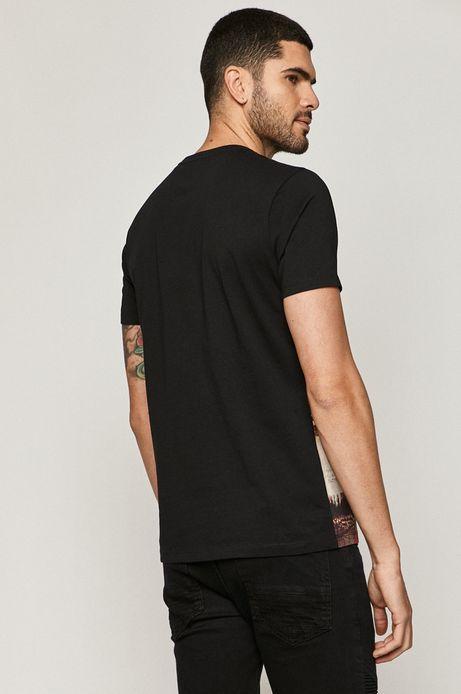 T-shirt męski bawełniany z nadrukiem